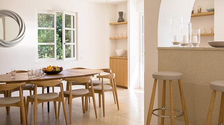 la reserve ramatuelle villa kitchen