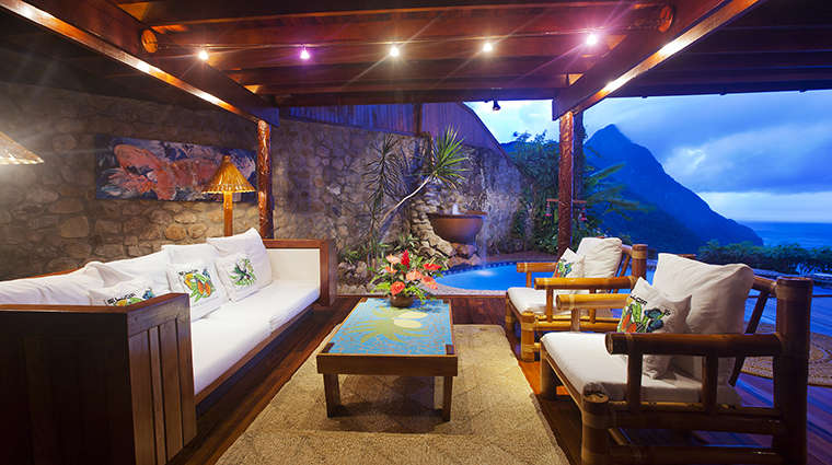 ladera resort saint lucia guestroom and suite