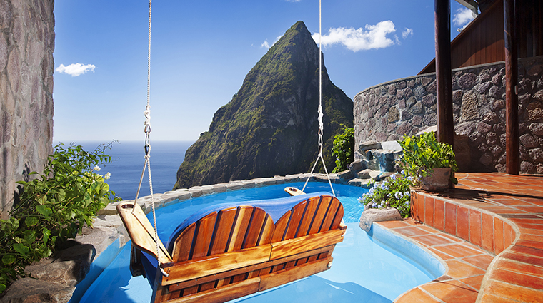 ladera resort saint lucia hilltop suite