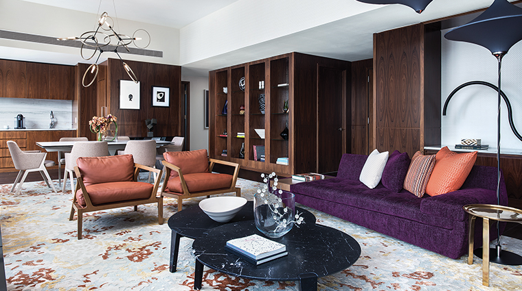 the langham new york fifth avenue presidential suite living room