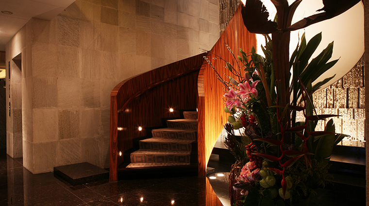 las alcobas a luxury collection hotel mexico city lobby staricase