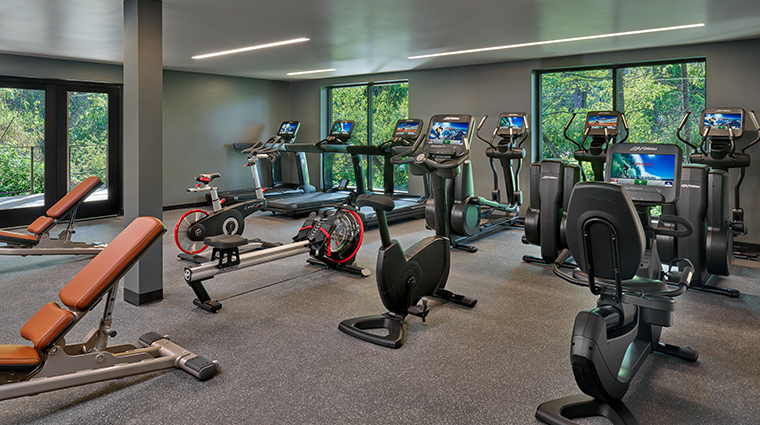 las alcobas a luxury collection hotel napa valley Atrio fitness