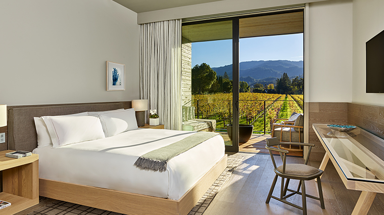 las alcobas a luxury collection hotel napa valley standard king