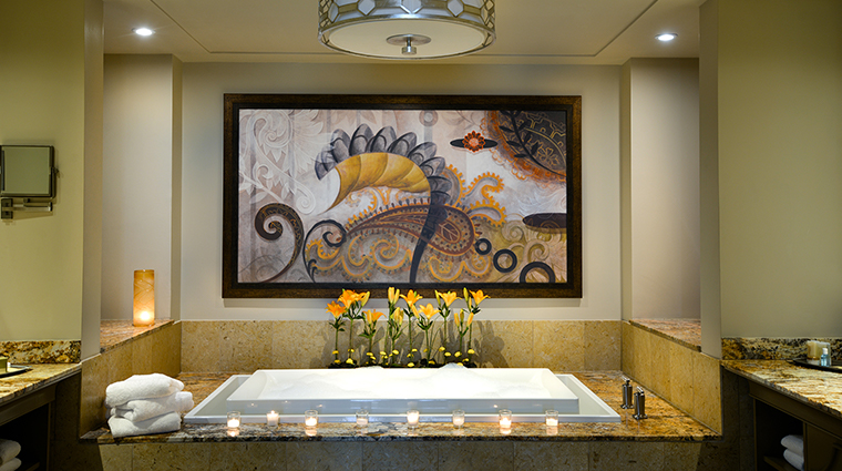 LAuberge Lake Charles Versaille Suite Bathroom