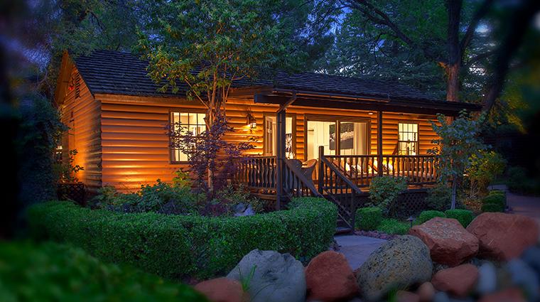 lauberge de sedona cottage exterior