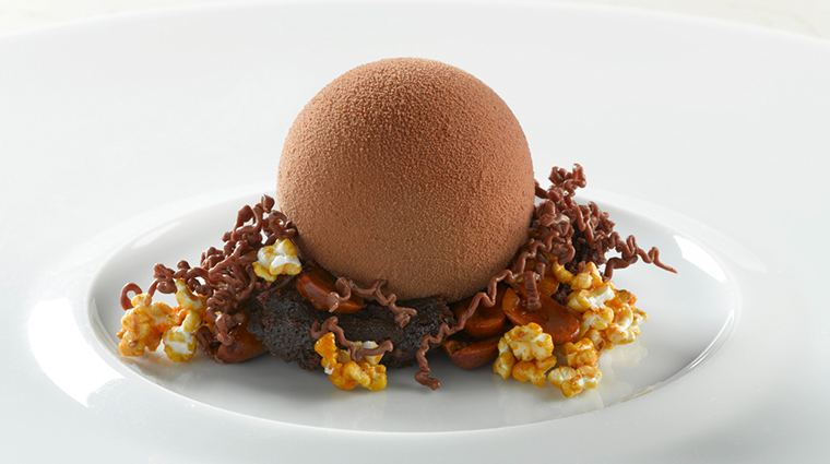 le bernardin dark chocolate dessert