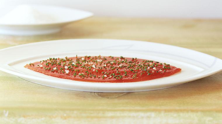 le bernardin pounded tuna