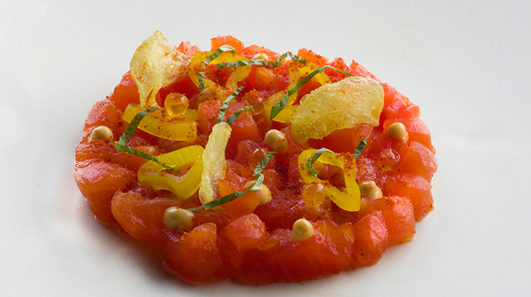 le bernardin salmon tartare