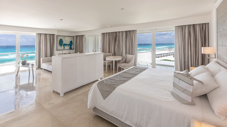 le blanc spa resort cancun royale govenor suite bedroom