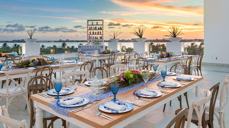 le blanc spa resort cancun wind terrace