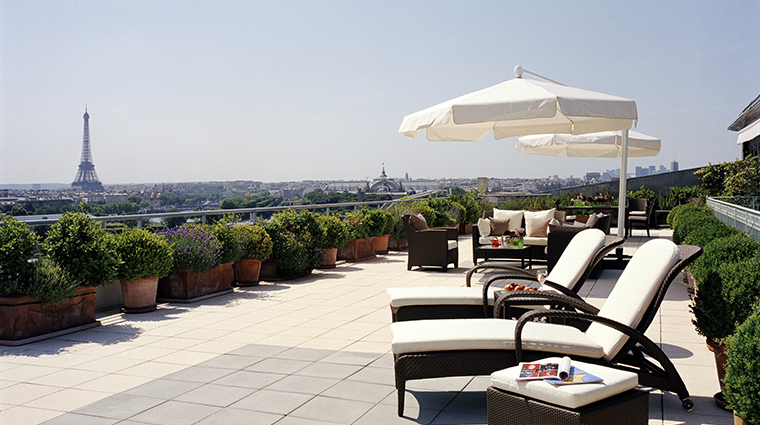 le meurice dorchester collection Belle etoile suite terrace