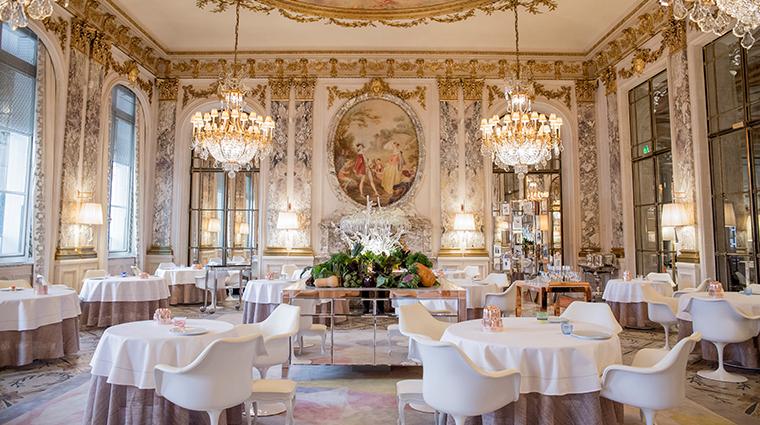 le meurice dorchester collection alain ducasse restaurant