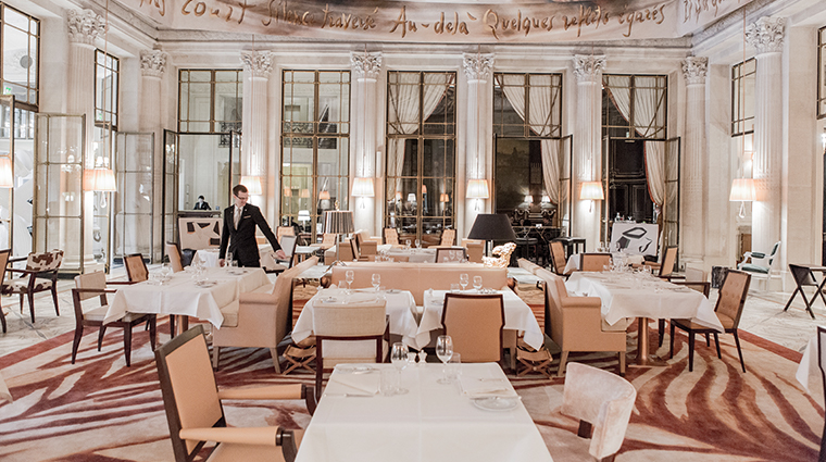 le meurice dorchester collection dali restaurant