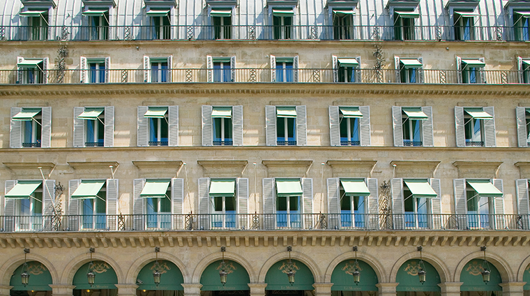 le meurice dorchester collection facade