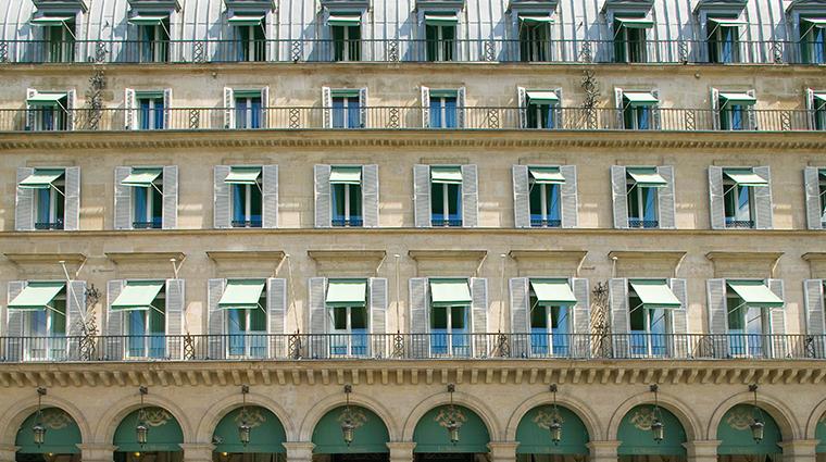 le meurice dorchester collection facade