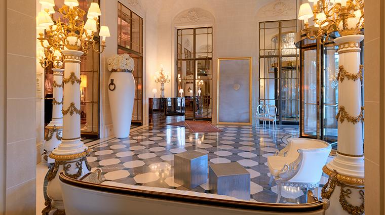 le meurice dorchester collection lobby