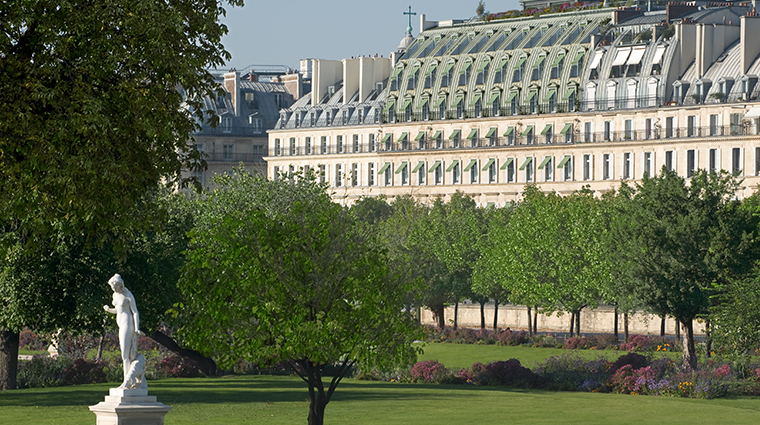 le meurice dorchester collection tuileries garden