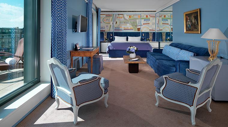 le richemond geneve Armleder suite bedroom