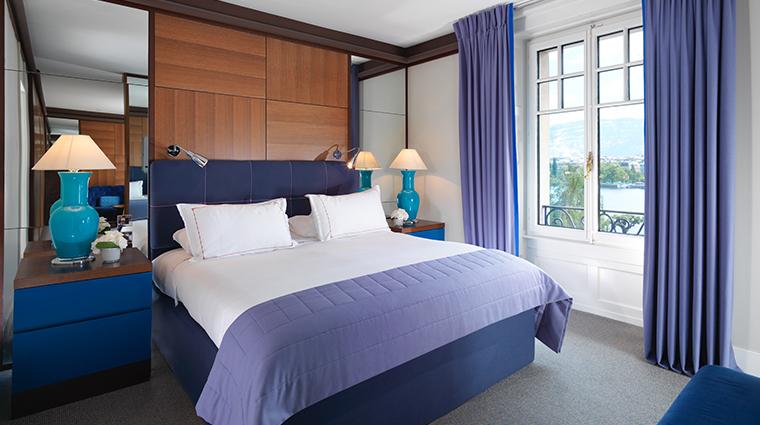 le richemond geneve junior suite bedroom
