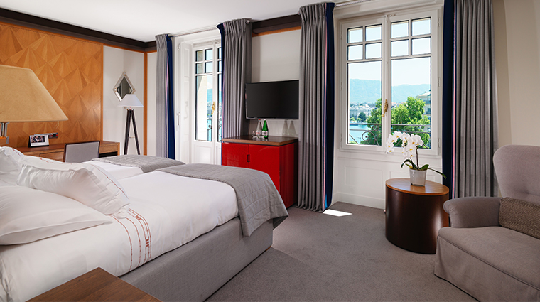 le richemond geneve new premium lake view bed
