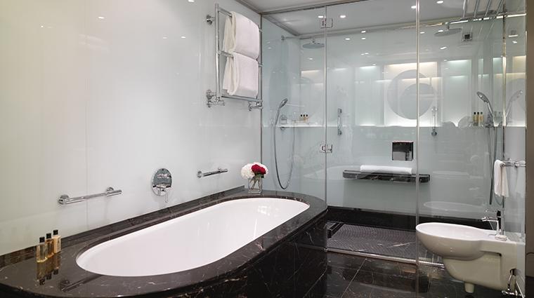 le richemond geneve new premium lake view suite bathroom