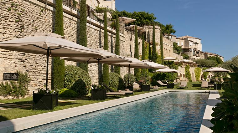 airelles gordes la bastide new pool