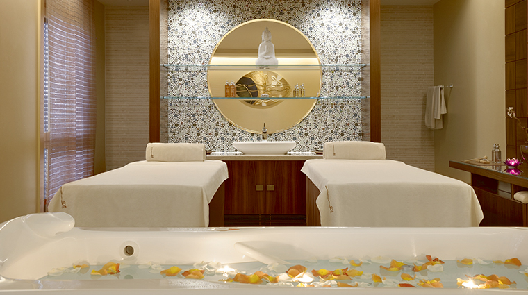 le spa valmont double treatment room