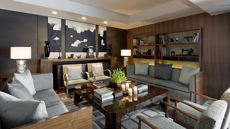 les suites orient bund shanghai Cafe DonXi lounge area
