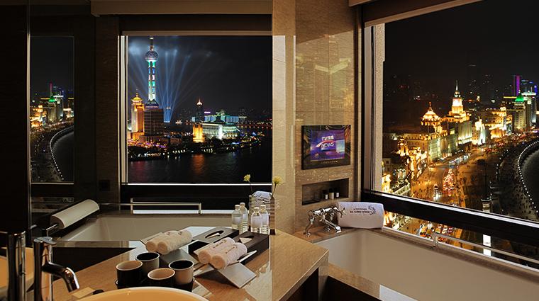 les suites orient bund shanghai studio bathroom