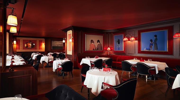 lescape hotel seoul LAmant Secret dining