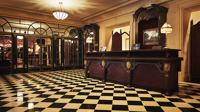 lescape hotel seoul arrival lobby