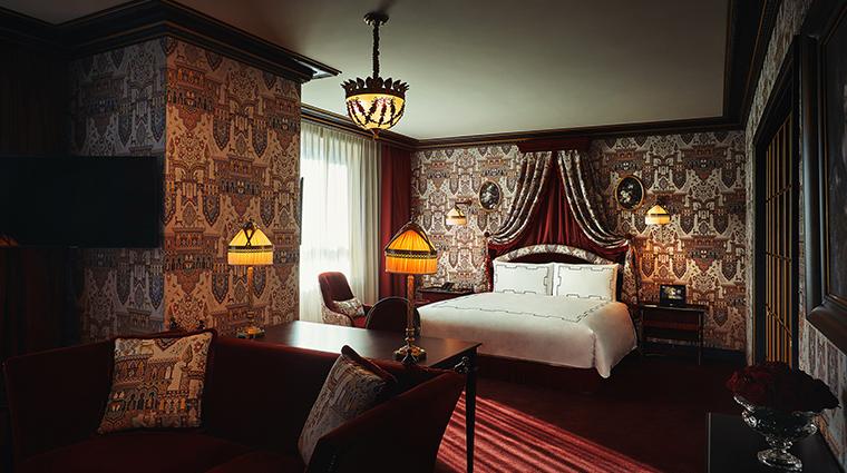 lescape hotel seoul atelier suite bedroom