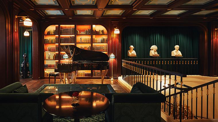 lescape hotel seoul library piano