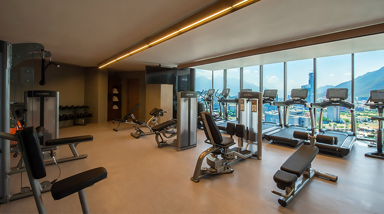 live aqua urban resort monterrey gym