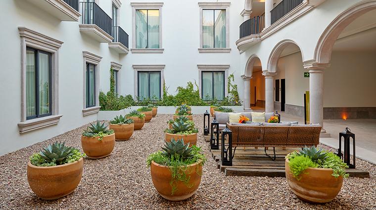 live aqua urban resort san miguel de allende courtyard