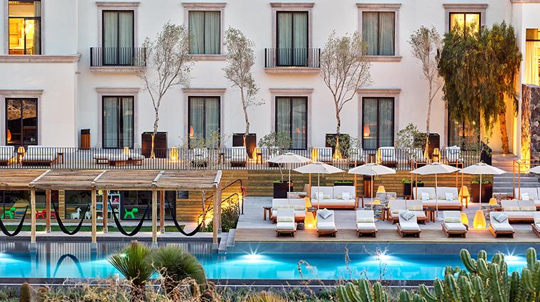 live aqua urban resort san miguel de allende pool