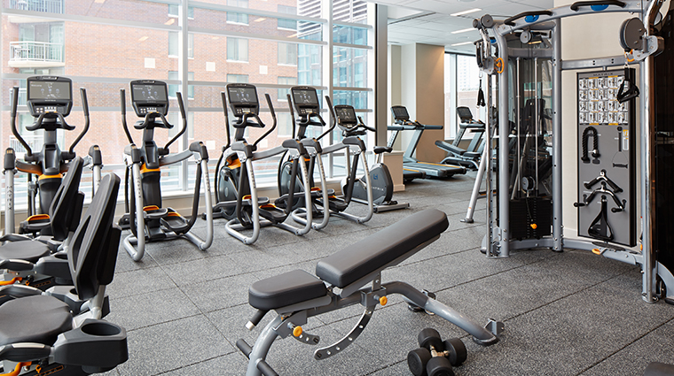 loews chicago hotel fitness center