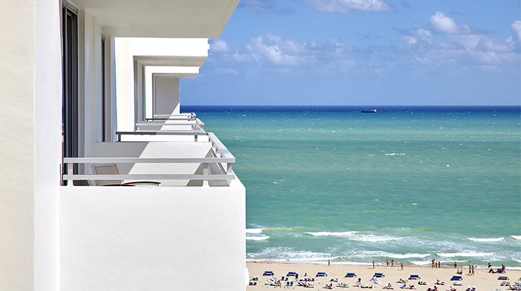 loews miami beach hotel balconies
