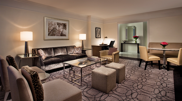 loews regency new york hotel park avanue living room