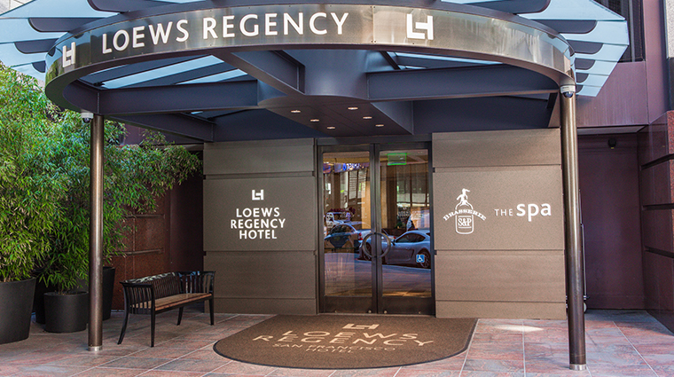 loews regency san francisco hotel entrance
