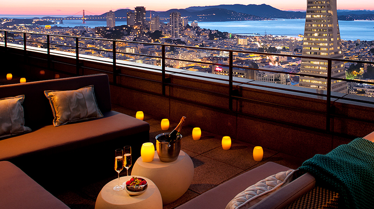 loews regency san francisco hotel sky deck