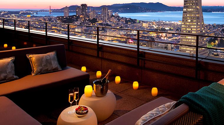 loews regency san francisco hotel sky deck