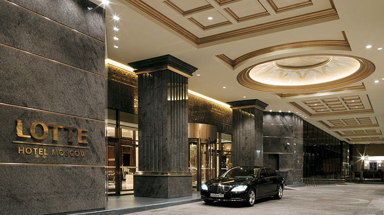 lotte hotel moscow entrance