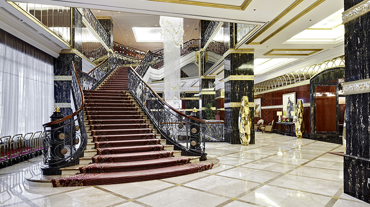 lotte hotel moscow stairs