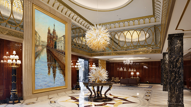 lotte hotel st petersburg lobby