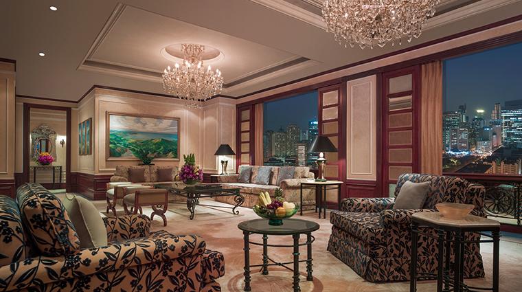 makati shangri la manila presidential suite living room