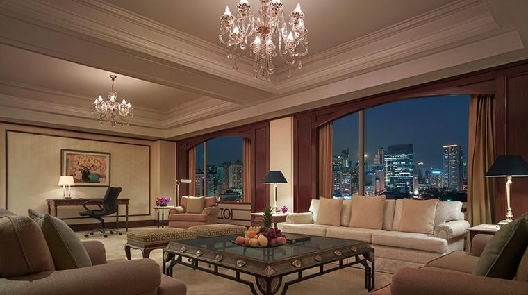 makati shangri la manila specialty suite living room