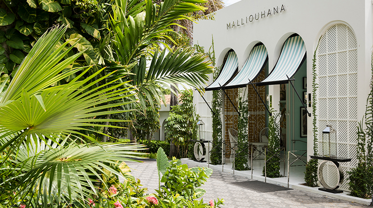 malliouhana auberge resorts collection front entrance
