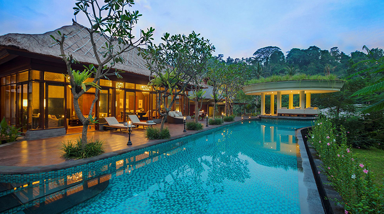 mandapa a ritz carlton reserve three bedroom villa pool