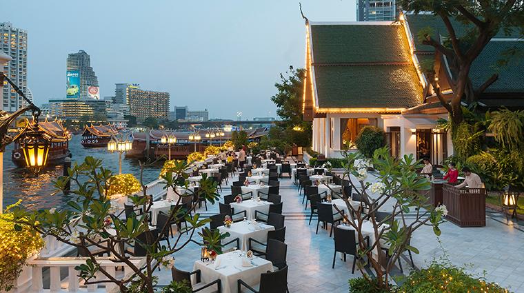 mandarin oriental bangkok SalaRimNaam Terrace